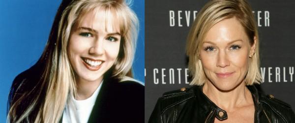 Jennie Garth tinha 18 anos na estreia de 'Barrados no Baile', em 1990 (Foto: Divulgação/Getty Images)