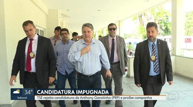 TSE decide que Anthony Garotinho não pode disputar a eleição para governador do RJ