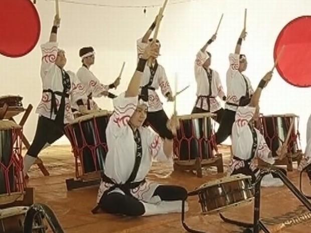 Japan Fest termina neste domingo em Marília (Foto: reprodução/TV Tem)