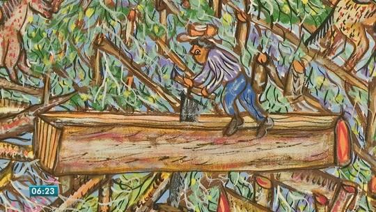 Obras de pintores de MT são selecionadas para exposição na Polônia