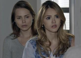 Júlia e Elisa ficam chocadas com atitude drástica de Bernardo