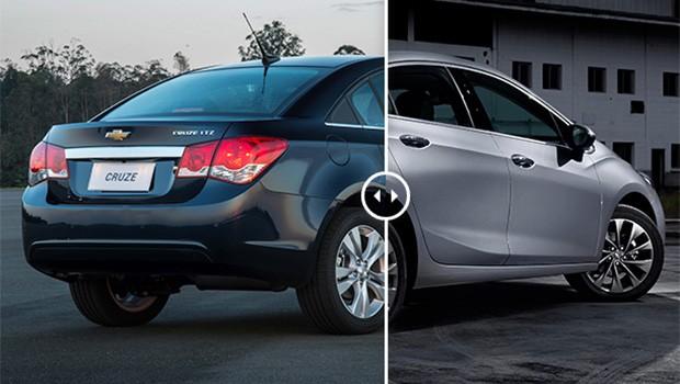 Chevrolet Cruze: Era assim... e fiquei assim (Foto: Autoesporte)