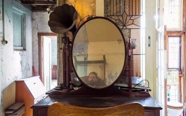 Barbado visto em Espelho 'Fantasma'