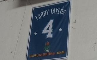 Larry Tayor, Mogi, Bauru, homenagem (Foto: Sérgio Pais)