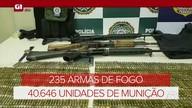 G1 no Bom Dia Rio: PRF apreendeu, em 6 meses, 40,6 mil munições nas estradas do RJ