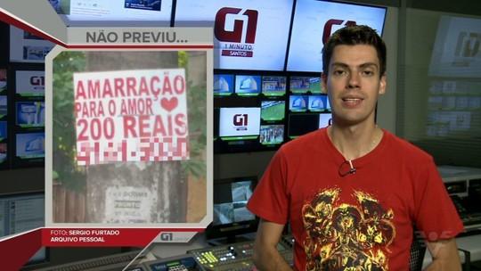 Vidente é multada em R$ 4 mil por espalhar cartazes em Santos