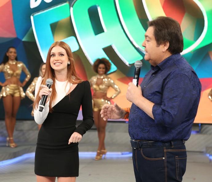 Marina Ruy Barbosa participa do 'Se Liga No Telão'  (Foto: Carol Caminha/Gshow)