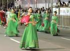Veja como foi o desfile temático de Porto Alegre (Daniel Bittencourt/G1 RS)