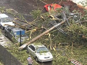 Com início das chuvas, população teme alagamentos em Goiânia