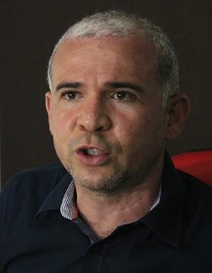 Tiago Vasconcelos, presidente do Fla-PI  (Foto: Josiel Martins)