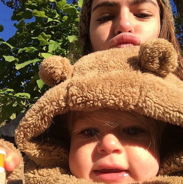 Renata Sozzi e seu filho juntos no Dia das Crianças (Foto: Reprodução/Instagram)