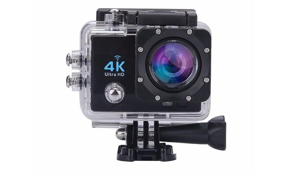 Câmera de ação filma em resolução Ultra HD (Foto: Divulgação)
