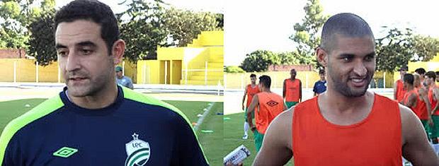 Goleiro Willian e zagueiro Dão são os novos reforços do Luverdense para Série C (Foto: Assessoria/Divulgação)
