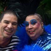 Maria Alcina e Paulo Padilha (Foto: Tarita de Souza/Divulgação)