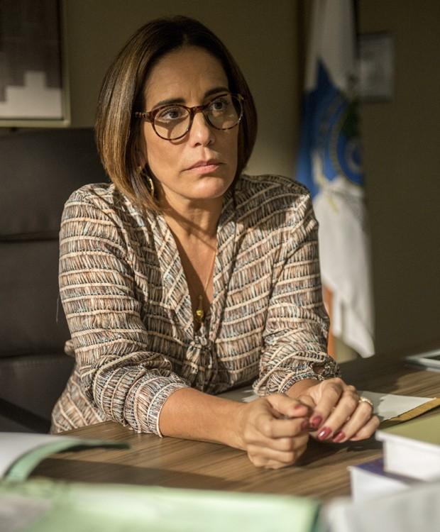 Gloria Pires é a protagonista da série 'Segredos de Justiça' (Foto: Divulgação/TV Globo)