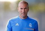 Zidane real madrid B treino