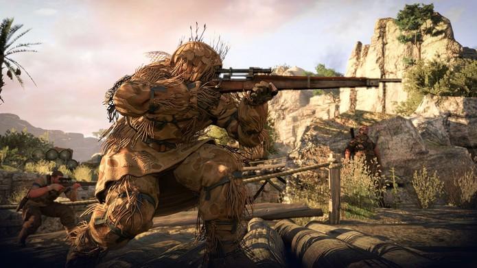 Sniper Elite 3 faz parte dos descontos da Live (Foto: Divulgação/Rebellion)