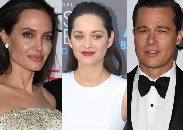 Marion Cotillard é apontada como pivô de separação de Angelina Jolie e Brad Pitt (Foto: AFP)
