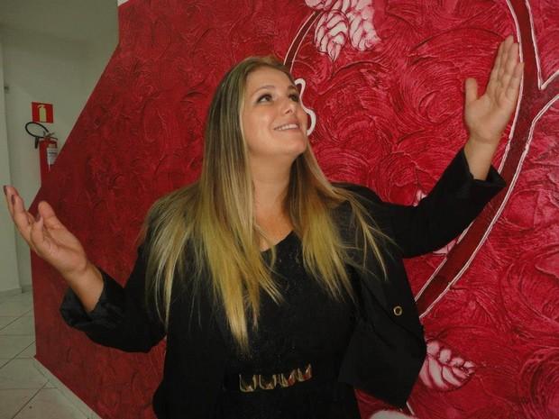 Viviane Brunieri, ex-Ronaldinha (Foto: Arquivo Pessoal)