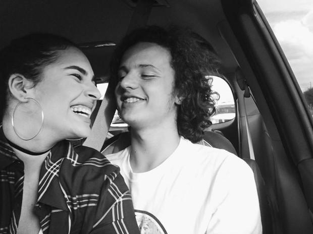 Livian Aragão com o novo namorado, José Marcos (Foto: Reprodução/Instagram)