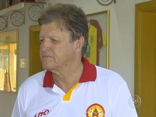 Valter Ferreira técnico do Atlético Sorocaba (Foto: Reprodução / TV TEM)