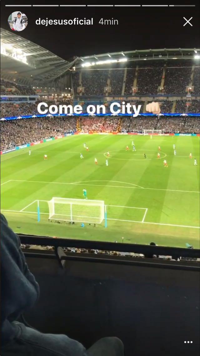 Gabriel Jesus Manchester City x Monaco