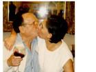 'Dona Florinda' divulga fotos de Roberto Bolaños: 'Amor eterno'