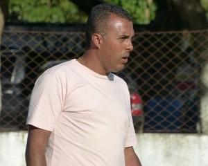 Márcio Bittencourt, técnico interino do boavista (Foto: Vitor Costa/Futrio.net)