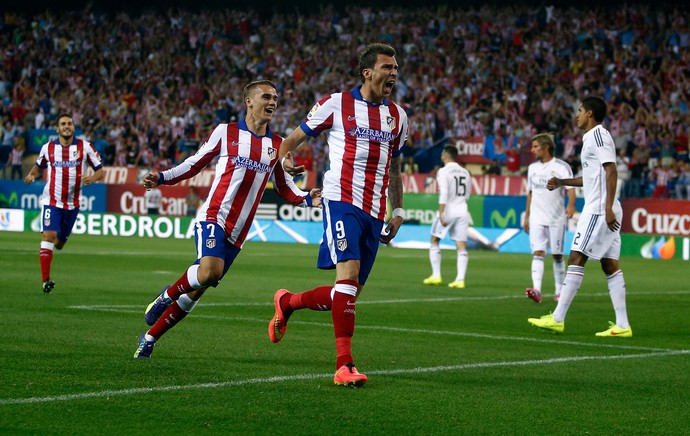 Mandzukic real madrid x atletico madrid (Foto: AP)