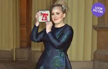 Look do dia: Adele usa Stella McCartney para receber homenagem