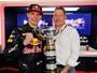 Max Verstappen dedica vitória ao pai e admite surpresa com triunfo histórico