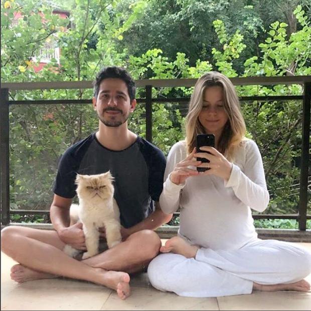 Pedro Neschling e Vitória Frate (Foto: Reprodução/Instagram)