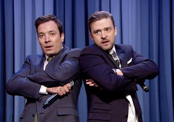 Jimmy Fallon e Justin Timberlake (Foto: Reprodução)