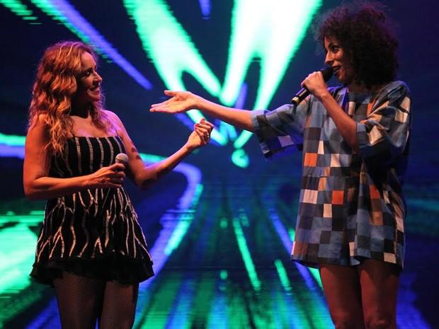 VIRADA CULTURAL - Sábado (22h30): Daniela Mercury  canta com a cantora Marcia Castro (Foto: Fábio Tito/G1)