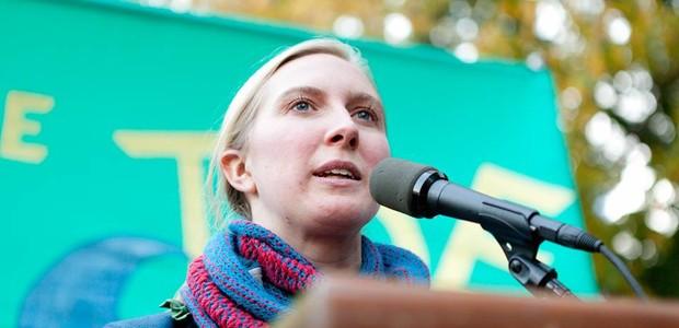 May Boeve, diretora da campanha internacional 350.org (Foto: Divulgação/350.org)