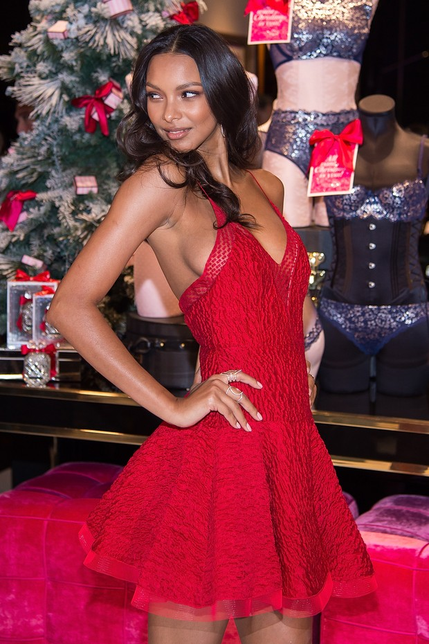 A angel da Victoria's Secret Lais Ribeiro (Foto: Getty Image)