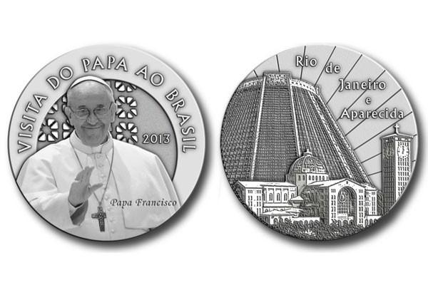 Casa Da Moeda Lança Medalhas Em Homenagem Ao Papa