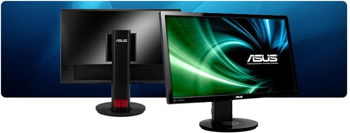 Monitor da Asus gamer tem tempo de resposta de 1 ms e resolução Full HD (Foto: Divulgação/Asus)