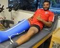 Zagueiro Breno, do São Paulo, passa por nova cirurgia no joelho direito