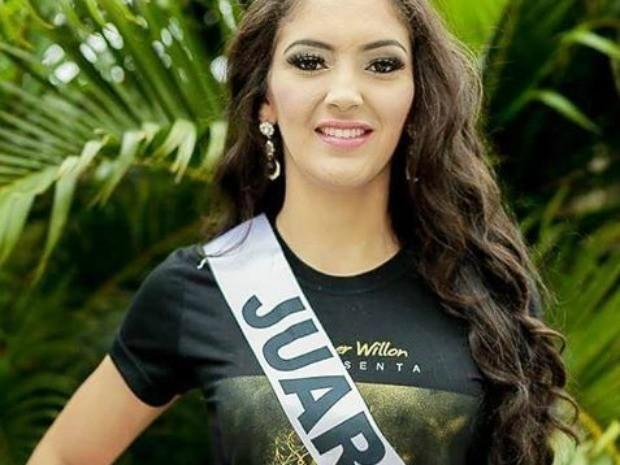 Miss Juara, Jakeline Coutinho de Lima, 23 anos, 1,75 m de altura e 58 kg (Foto: Divulgação)