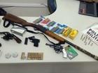 Polícia recupera armas roubadas em Santa Rita do Sapucaí, MG