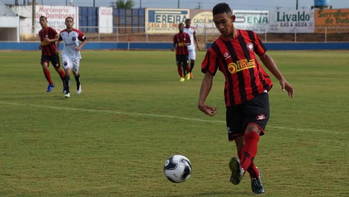 Anderson Lima Atlético Potiguar (Foto: Augusto Gomes/GloboEsporte.com)
