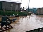 Juruá decreta emergência e cheia já afeta 110,6 mil pessoas no Amazonas