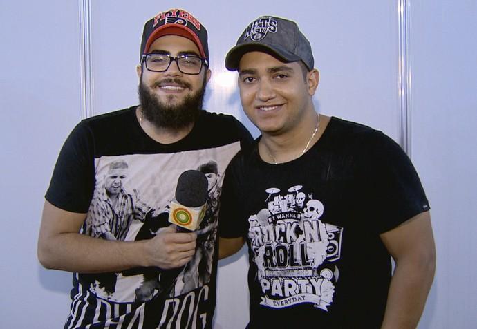 Dupla Henrique & Juliano celebra parceria com Marília Mendonça (Foto: Rede Amazônica)