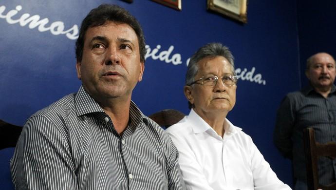 Zé Teodoro e Pedro Minowa (Foto: Akira Onuma/O Liberal)