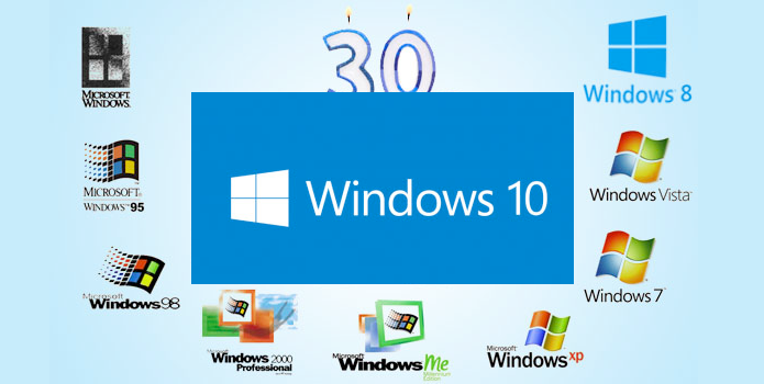Windows 10 marca os 30 anos de evolução do sistema (Foto: Reprodução/Edivaldo Brito)