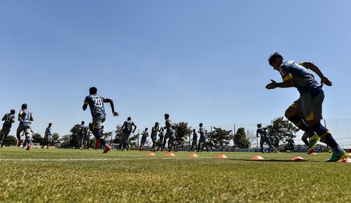 Cruzeiro treino (Foto: Washington Alves/Light Press)