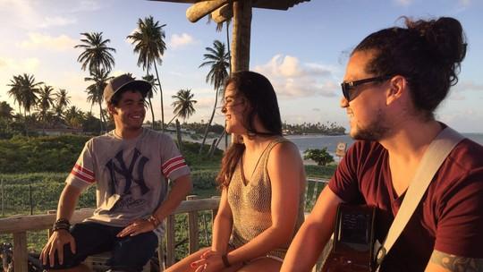 Camila Masiso e Diogo Guanabara fazem a trilha do 'Rota' em Jacumã
