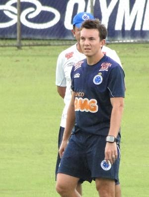 dagoberto, atacante do Cruzeiro (Foto: Tarcísio Badaró / Globoesporte.com)