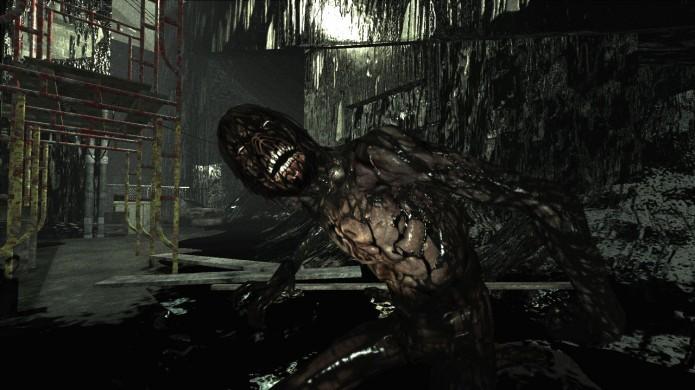 Condemned 2: Bloodshot: jogo é caracterizado por muito sangue, violência e mistura de gêneros (Foto: Reprodução/Behind Games)